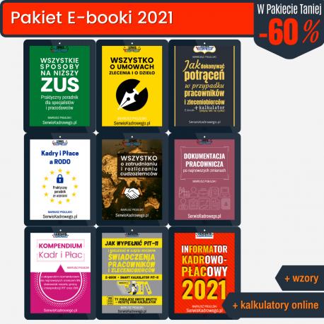 Pakiet E-booki 2021