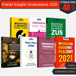Pakiet Książki Drukowane 2021
