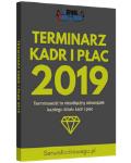 Terminarz Kadr i Płac 2019